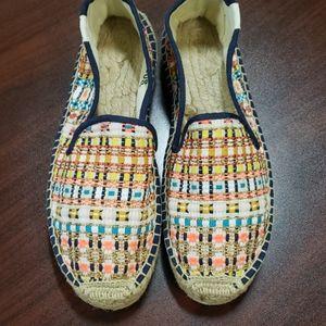 Soludos Tweed Print Shoes